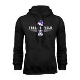 Black Fleece Hoodie-Track and Field Shoe Design