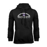 Black Fleece Hoodie-Wide Football Design