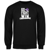 ACU Wildcat Black Fleece Crew-Go Fight Win