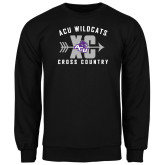 ACU Wildcat Black Fleece Crew-Cross Country Design