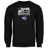 Black Fleece Crew-Game Set Match Tennis Design