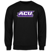 ACU Wildcat Black Fleece Crew-Athletics