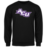 ACU Wildcat Black Fleece Crew-Angled ACU