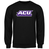 ACU Wildcat Black Fleece Crew-Football