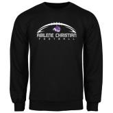 Black Fleece Crew-Wide Football Design