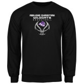 ACU Wildcat Black Fleece Crew-Design On Basketball