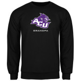 ACU Wildcat Black Fleece Crew-Grandpa