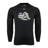 ACU Wildcat Under Armour Black Long Sleeve Tech Tee-Cross Country Shoe Design