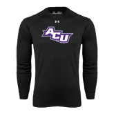 ACU Wildcat Under Armour Black Long Sleeve Tech Tee-Angled ACU