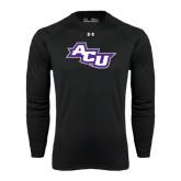 ACU Wildcat Under Armour Black Long Sleeve Tech Tee-Angled ACU