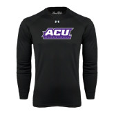 ACU Wildcat Under Armour Black Long Sleeve Tech Tee-Basketball