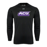 ACU Wildcat Under Armour Black Long Sleeve Tech Tee-Baseball