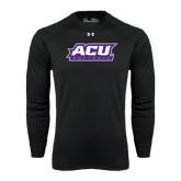 Under Armour Black Long Sleeve Tech Tee-Softball