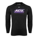 ACU Wildcat Under Armour Black Long Sleeve Tech Tee-Track & Field