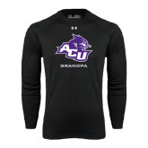 ACU Wildcat Under Armour Black Long Sleeve Tech Tee-Grandpa