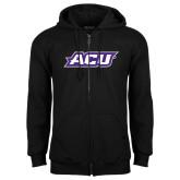 Black Fleece Full Zip Hoodie-ACU