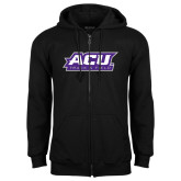 ACU Wildcat Black Fleece Full Zip Hoodie-Track & Field