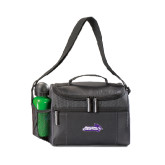 ACU Wildcat Edge Black Cooler-Primary Logo