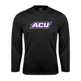 Performance Black Longsleeve Shirt-ACU