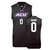 ACU Wildcat Replica Black Adult Basketball Jersey-Personalized