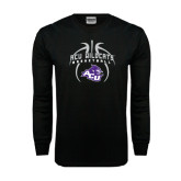 Black Long Sleeve TShirt-Design On Basketball