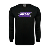 Black Long Sleeve TShirt-ACU Wildcats