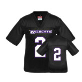 Youth Replica Black Football Jersey-#2
