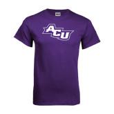 Purple T Shirt-Angled ACU