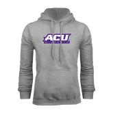 Grey Fleece Hoodie-ACU Wildcats