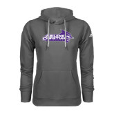 ACU Wildcat Adidas Climawarm Charcoal Team Issue Hoodie-Primary Logo