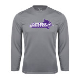 Performance Steel Longsleeve Shirt-Primary Logo