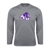 Performance Steel Longsleeve Shirt-Angled ACU w/Wildcat Head