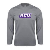 ACU Wildcat Syntrel Performance Steel Longsleeve Shirt-ACU Wildcats