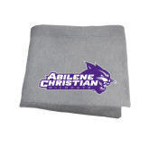ACU Wildcat Grey Sweatshirt Blanket-Primary Logo