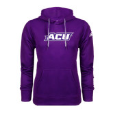 ACU Wildcat Adidas Climawarm Purple Team Issue Hoodie-ACU