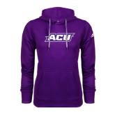 Adidas Climawarm Purple Team Issue Hoodie-ACU