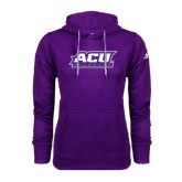 Adidas Climawarm Purple Team Issue Hoodie-ACU Wildcats