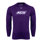 Under Armour Purple Long Sleeve Tech Tee-ACU