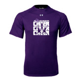 Under Armour Purple Tech Tee-Cheer, Cheer, Cheer