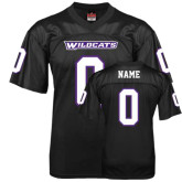 ACU Wildcat Replica Black Adult Football Jersey-Personalized