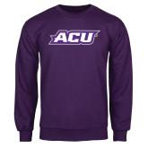 Purple Fleece Crew-ACU