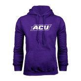 Purple Fleece Hoodie-ACU