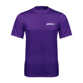 Syntrel Performance Purple Tee-Primary Logo