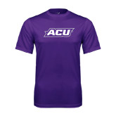Performance Purple Tee-ACU