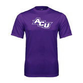 Performance Purple Tee-Angled ACU