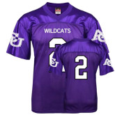 ACU Wildcat Replica Purple Adult Football Jersey-#2