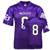 ACU Wildcat Replica Purple Adult Football Jersey-#8