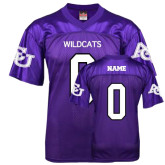 ACU Wildcat Replica Purple Adult Football Jersey-Personalized