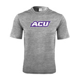 ACU Wildcat Performance Grey Heather Contender Tee-ACU