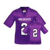 Youth Replica Purple Football Jersey-#2